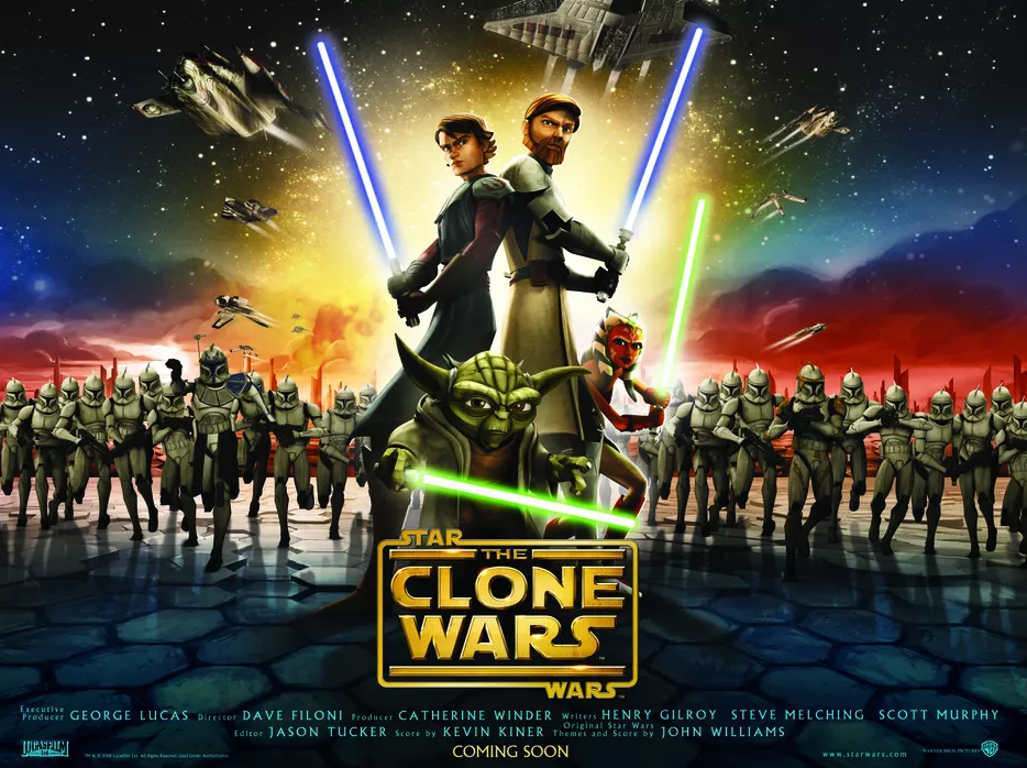 Zoom Session on Star Wars & Judaism VII: The Clone Wars This Evening