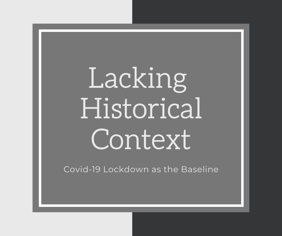 Lacking Historical Context: Covid-19 Lockdown as the Baseline for Knowing Residents