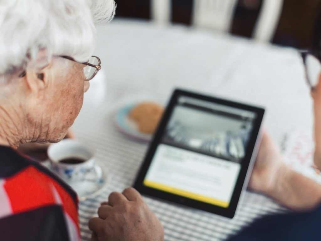Using Technology in a Senior Living Facility Under COVID-19 Lockdown